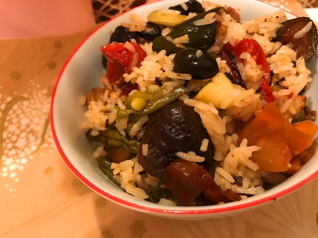 hogyan készítsük el a csirke és az alma rizs diétát?